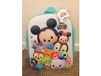 Brand new Disney tsum tsum backpack