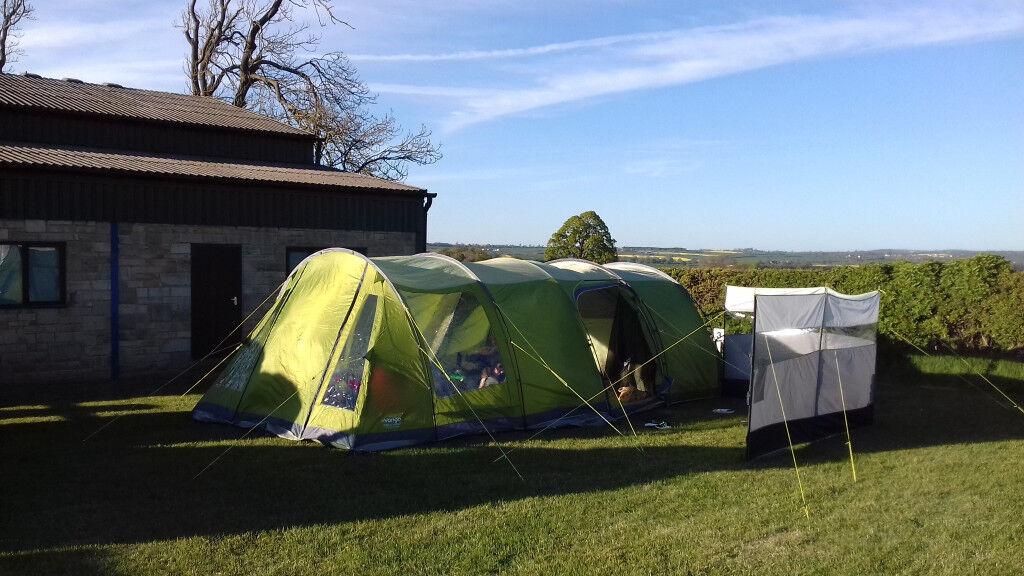 Vango Icarus 500 Deluxe Tent Bundle, Extension/Carpet ...