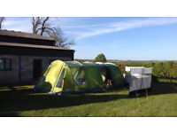 Vango Icarus 500 Deluxe Tent Bundle, Extension/Carpet/Footprint.