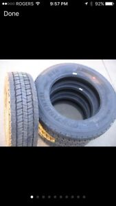 New 2017 Ford F550 tires x 6