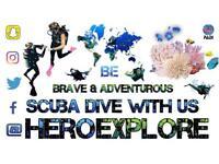 Learn to Scuba Dive - Be Brave & Adventurous