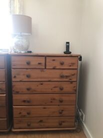 Pine chest of drawers SET - 3 units in total - EXCELLENT CONDITION