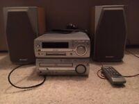 Sharp Mini Disc CD Player
