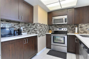 Renovated Spacious 2 Bedroom + Den Near Square One! A MUST SEE!