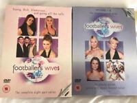 DVDs footballers wives series 1 & 2