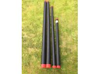 Fishing pole tubes, rod protectors.