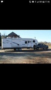 Moving travel trailers within the maritimes