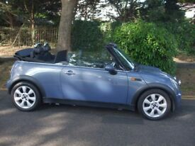 MINI COOPER CONVERTIBLE WITH LONG MOT