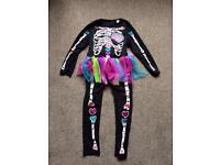 Skeleton with tutu age 5-6