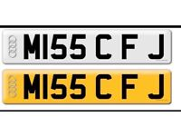M155 CFJ - Private plate avalible can be used on any car registered after 1995