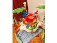 Fisher price jumperoo must have hands free!