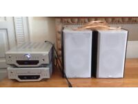 Goodmans X-Pro Hifi Stereo System Amplifier/Tuner, CD Player & Speakers
