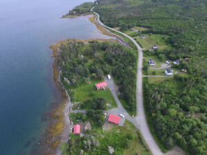 campground on waterfront, home plus 30 acres