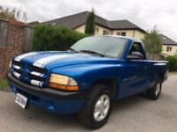 DODGE DAKOTA SPORT PICK UP TRUCK LHD RARE MANUAL AND ECONOMICAL AMERICAN USA