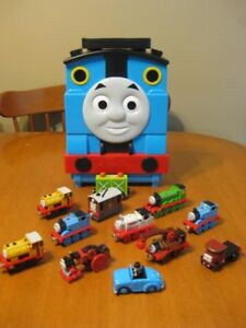 THOMAS THE TANK TRAIN CARRY CASE WITH MAGNETIC TRAINS