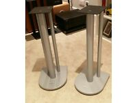 Now Sold: ATACAMA Speaker stands (pair) in Silver