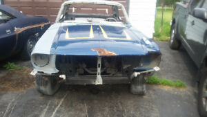 1968 Mustang project