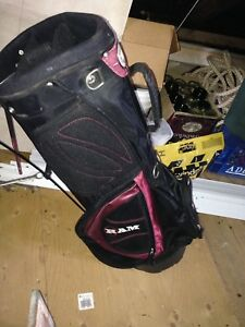 ATTIC SALE-Nice carry golf bag with fold out legs