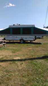 For Rent Hardtop Clipper Trailer in Moncton