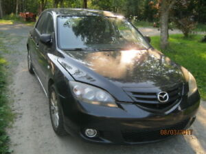 Parting out 2003 Mazda 3  5 speed