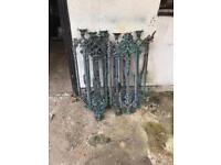 Antique Cast Iron stair spindles x 7