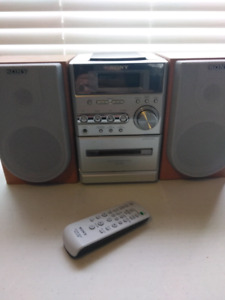 Beautiful SONY Book case Stereo with Remote