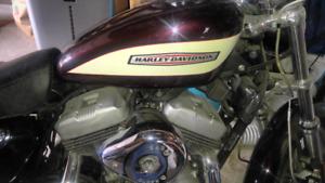 Harley sportster xlr 1200      2005