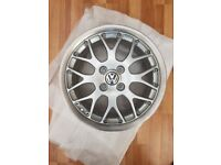 "BBS RX2 16"" 4x100 Alloy Split Rims VW Polo Golf (fresh refurb) + Tyres"