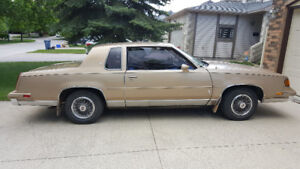1987 Olds Cutlass Supreme Coupe For Sale by Orginal owner