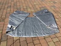 Motorhome windscreen insulation cover