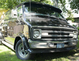 Fully Customized 1977 Dodge B200 Tradesman Van