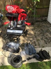 Mountain buggy duet with all accessories - very good condition