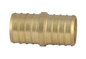 "Pex Brass Coupling 1/2"" bag of 20 pieces"
