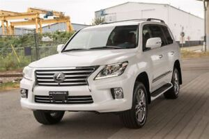 2013 Lexus LX 570 Loaded On And Off Road SUV! Langley Location