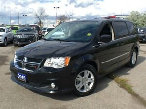 2016 Dodge Grand Caravan CREW**LEATHER**BACK UP CAM**BLUETOOTH**