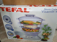 Tefal steam cooker in almost new condition