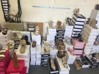 Joblot 687 pairs women's brand new shoes