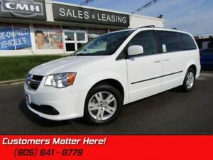 2016 Dodge Grand Caravan Crew Plus  LEATH HS CAM PWR-SLIDERS/GAT