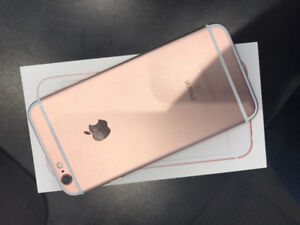 iPhone 6s 64GB Rose Gold ( Locked to Bell )