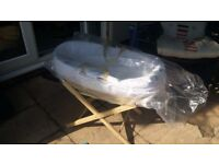 Moses basket and stand. BRAND NEW UNUSED.