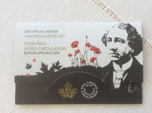 The 2015 Special Edition Uncirculated Set Of Canadian Coins