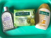New! Palmolive/Lavender Body Wash plus Soap + other beauty products