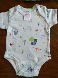Ensemble de 5 sous-vêtements bébé NEUFS, grandeur 0-3 mois/3-6 m