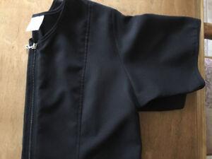 Hauts d'uniforme Noir Neuf