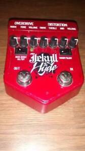 Visual Sound Jekyll and Hyde Overdrive and Distortion pedal.Used