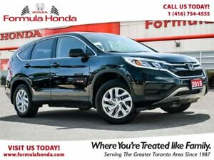 2015 Honda CR-V SE | ONE OWNER | ACCIDENT FREE!