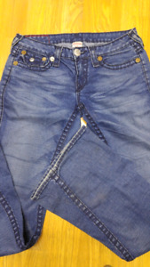 True Religion Joey Super T Flare Jeans