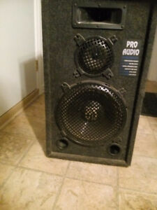 Pro Audio 250 Watt - Monitor Speakers (SET OF TWO)