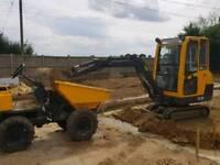 Digger and Dumper hire