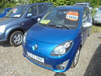 Renault Twingo GT 1.2 16V TCE 100HP, LOW MILES (blue) 2008